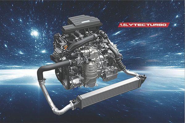 Dong co Vtec Turbo Honda CRV 2020